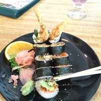 Photo taken at Banzai Sushi & Thai by Andrew A. on 3/16/2015