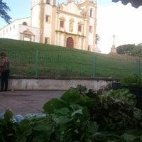 Photo taken at Feira Orgânica do Carmo by Niedja C. on 7/27/2013