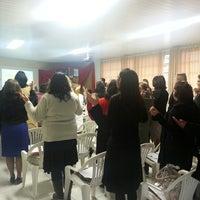 Photo taken at Escola Adventista de Blumenau by Karyne L. on 8/10/2013