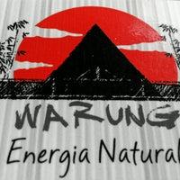 Photo taken at Warung Energia Natural by Tiago C. on 9/6/2016