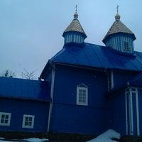 Photo taken at михайловская церковь by Игорь С. on 3/10/2013