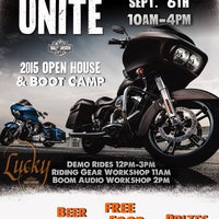 Photo taken at Lucky Harley-Davidson by Lucky Harley-Davidson on 9/4/2014