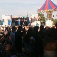 Photo taken at Lovebox Festival by Nitra K. on 7/19/2014
