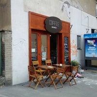 Photo taken at Coffee imrvére by Tomáš S. on 6/24/2014