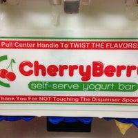 Photo taken at CherryBerry Yogurt Bar by Santiago B. on 9/28/2013