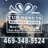 Photo taken at Yun Donuts by Santiago B. on 2/2/2013