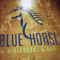 Photo taken at Blue Horse Restaurant & Bar by Santiago B. on 10/7/2013
