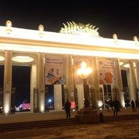 Photo taken at Каток ЦПКиО им. Горького by Ekaterina K. on 11/28/2015