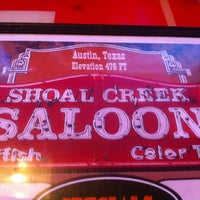 Photo taken at Shoal Creek Saloon by Gavin G. on 1/30/2013