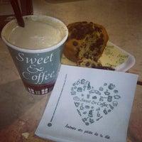 Photo taken at Sweet & Coffee by Lu L. on 1/18/2014