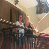 Photo taken at Molyvos Hotel 1 by Buğra A. on 7/29/2014
