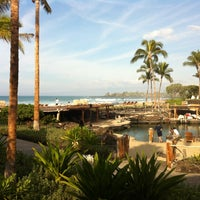 Photo taken at Four Seasons Resort Hualalai at Historic Ka`upulehu by Parker R. on 1/2/2013