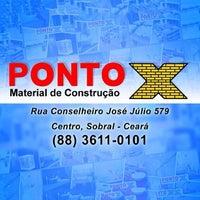 Photo taken at Ponto X Material de Construção by Manuel A. on 7/8/2014