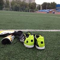 Photo taken at Стадион УрФУ by Alex K. on 7/25/2014