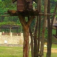 Photo taken at Mini Zoo Taman Teruntum by Halia M. on 9/14/2014