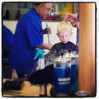 Photo taken at Top Hat Barber Shop by Dave W. on 6/26/2013