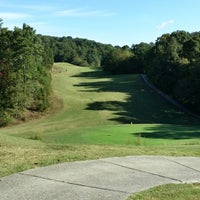 Photo taken at Eagle Bluff Golf Course by Jermaine P. on 10/4/2014