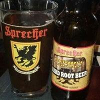 Photo taken at Sprecher's Restaurant & Pub by Randy G. on 7/25/2013