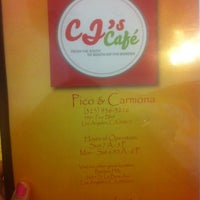 Photo taken at CJ's Cafe by Monique C. on 4/14/2012