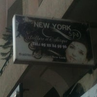 Photo taken at Salon coiffure New york spa by Issam A. on 5/1/2012