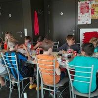 Photo taken at Frituur Den Drap by Nathalie S. on 6/27/2015