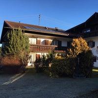 Photo taken at Gästehaus Heimgarten by Valeria T. on 12/30/2015