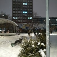 Photo taken at Сквер на Полковой улице by Pavel K. on 2/2/2018