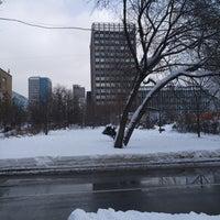 Photo taken at Сквер на Полковой улице by Pavel K. on 2/20/2018