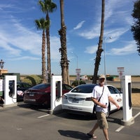Photo taken at Tesla Supercharger Station by Vera S. on 7/17/2014