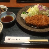 Photo taken at とんかつ 玉藤 清田店 by ラキシス on 5/27/2015