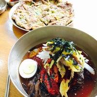 Photo taken at 해밀진주냉면 by soeun on 5/2/2017