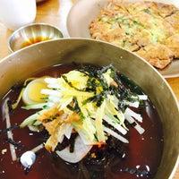 Photo taken at 해밀진주냉면 by soeun on 7/9/2017