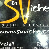 Photo taken at SuViche by Edith V. on 2/5/2013