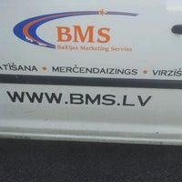 Photo taken at BMS - Baltijas Marketing Serviss by Jānis K. on 5/3/2013
