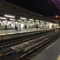 Photo taken at Platforms 9-10 by YUI T. on 3/26/2013