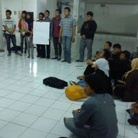 Photo taken at Gedung Unit 5 STMIK AMIKOM Yogyakarta by Indra P. on 10/24/2012