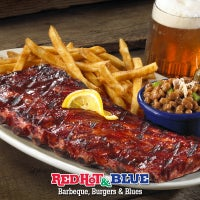 Red Hot & Blue  -  Barbecue, Burgers & Blues