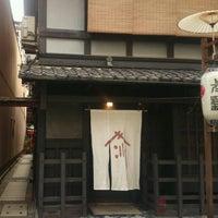 Photo taken at 釜座通(下立売〜三条間) by 3+4=7 on 7/18/2014