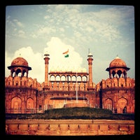 Photo taken at Red Fort (Lal Qila) by Arjun S. on 10/18/2012