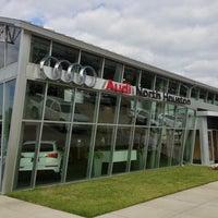 Photo taken at Audi North Houston by Jason L. on 10/10/2012