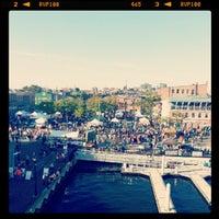 Photo taken at Broadway Pier by Jason C. on 10/6/2012