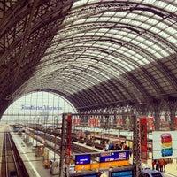 Photo taken at Frankfurt (Main) Hauptbahnhof by Jaunted on 10/25/2012