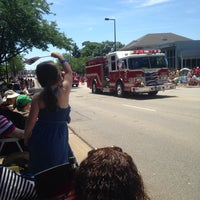 Photo taken at Deerfield Village by Andrea S. on 7/4/2014