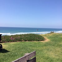 Photo taken at Del Mar Bluffs by Molly B. on 4/22/2014