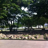 Photo taken at Jardim do MAM by Roberto C. on 12/1/2012