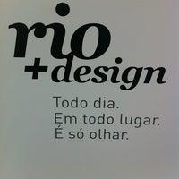Photo taken at Rio + Design by Roberto C. on 12/1/2012