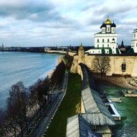 Photo taken at Pskov by Вика Богомолова on 11/29/2015