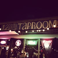 Photo taken at 12 South Taproom & Grill by Chase P. on 10/26/2012