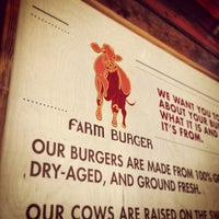 Photo taken at Farm Burger by Chase P. on 1/19/2013