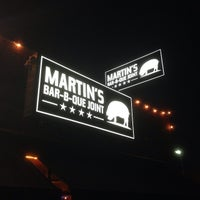 Photo taken at Martin's Bar-B-Que by Chase P. on 4/3/2014